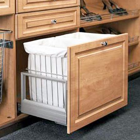 Double Pull Out Hamper