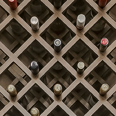 Lattice Wine Rack