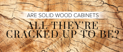Are Solid Wood Cabinets All They're Cracked Up To Be?