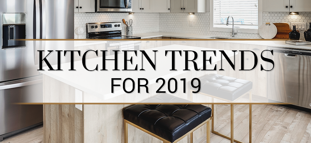 2019 Kitchen Cabinet Trends
