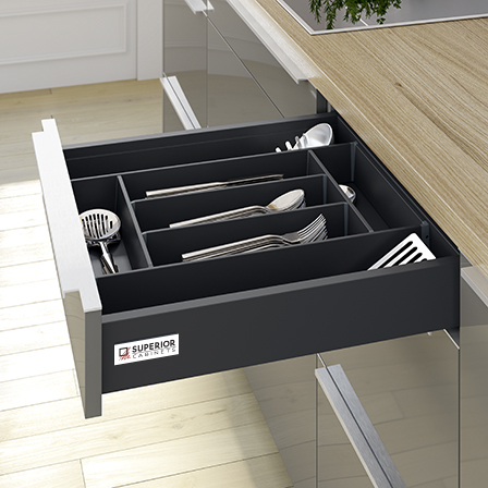 Orga Tray Cutlery Insert, Metal