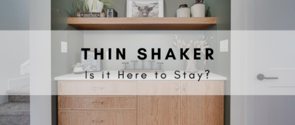 Is the Thin Shaker Here to Stay?