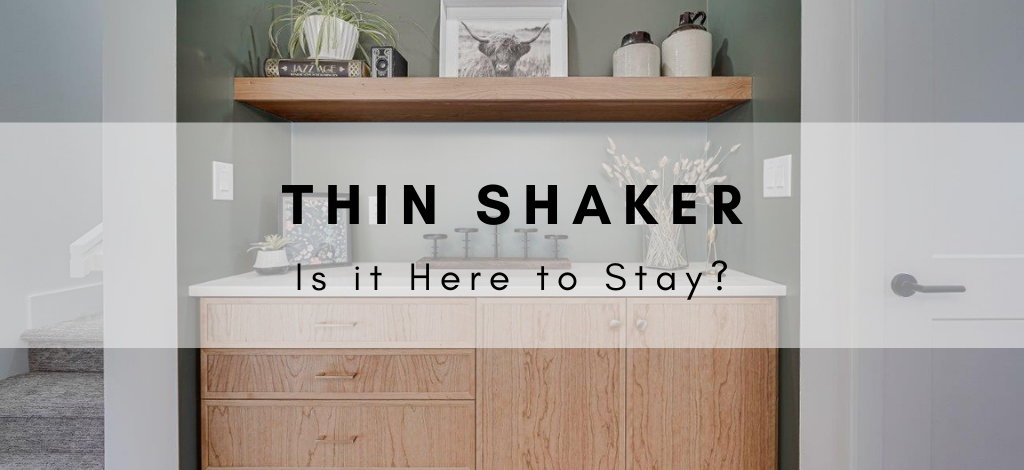 Is the Slim Shaker, Thin Shaker, Micro Shaker, Narrow Shaker, Skinny Shaker Cabinet Door here to stay? A blog by Superior Cabinets USA.