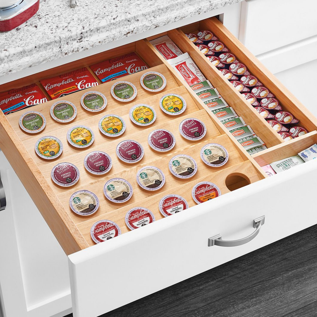 K-Cup Wood Drawer Insert