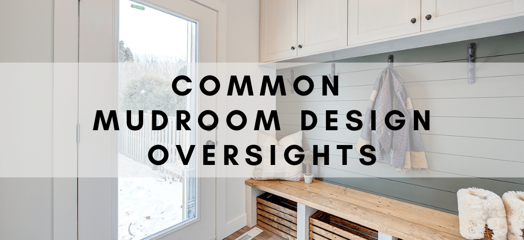 Superior Cabinets BLOG – Common Mudroom Design Oversights, Author - Shahan Fancy.